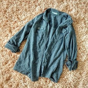 Maurice's Long Sleeve Size Button-Down Small